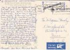 1966 ISRAEL Stamps COVER SLOGAN Pmk FORCES (postcard University Of Jerusalem Archaeology Institute) Airmail Label - Israel