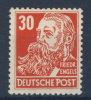 DDR Michel No. 335 v a X II ** postfrisch