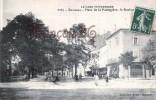 (30) Bagnols Sur Cèze - Place De La Poulagière Le Boulevard - 2 SCANS - Bagnols-sur-Cèze