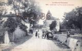 (31) Ganties Les Bains - Le Village Et Le Clocher - 2 SCANS - Other Municipalities