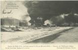 Incendie Des Tanks à Petrole De Hoboken Anvers  Tanks De Eiffe & Co,brulant...  (864) - Antwerpen