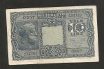 ITALIA - 10 LIRE GIOVE (Decr. 23/11/1944 - Firme: Bolaffi / Simoneschi / Giovinco) - LUOGOTENENZA - [ 1] …-1946 : Regno