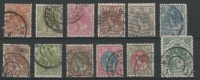 STAMPS - PAYS-BAS 1898-23 Obl. - Y&T N° 49,50,51,52,53,54,55,57,5 8,59,60,61  - - Used Stamps