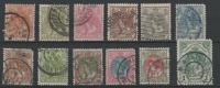 STAMPS - PAYS-BAS 1898-23 Obl. - Y&T N° 49,50,51,52,53,54,55,57,5 8,59,60,61  -