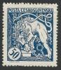 Czechoslovakia, 50 H. 1919, Sc # B126, Mi # 36, MH - Czechoslovakia