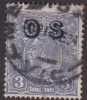 Australia 1913-36 King George V, Overprinted OS, 3d Blue Used O131