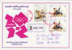 Algeria RMail 1625/6 Olympic Games London 2012 Sport Judo Rowing Aviron - Summer 2012: London