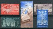 EGYPTE - Y&T Poste Aérienne 80 à 83 Et 85, - Poste Aérienne