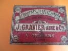 Boite Métallique /Croquets Jeanne D'Arc/Gravier Ainé & Cie/ORLEANS/Loiret/Vers 1925-1935   BFPP47 - Boîtes