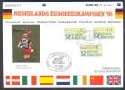 Germany Deutschland 1988 Sonderblatt Football Fussball Soccer Calcio UEFA EURO Panini Gold Berni Mascot München Cancel - UEFA European Championship