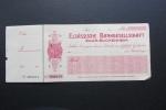 Rare Chèque De Banque De Sarre-Union  Pour La Elsässische Bankgesellschaft Vierge - Cheques & Traverler's Cheques