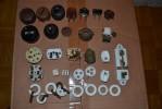 """Treasure Electrician"" - Old German Switches, Plugs, Ceramic ...""Schatz Elektroinstallateur"" - Old  Schalter... - Sciences & Technique"