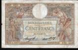 100 FRANCS MERSON, 17-6-1937 SERIE A - 1871-1952 Antiguos Francos Circulantes En El XX Siglo