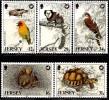 Jersey - 1988 - Wildlife Protection V - Mint Stamp Set - Jersey