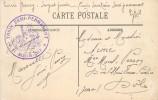 MARSEILLE - Cachet Train Semi Permanent, Le Medecin Chef. - Marcophilie (Lettres)