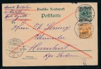 Krone/Adler- Eilkarte  -Königsfeld  Baden( Bc9413 )  Siehe Scan  ! - Briefe U. Dokumente