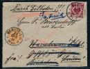 Krone/Adler- Eil Brief  -nach Schlesien ( Bc9403 )  Siehe Scan  ! - Briefe U. Dokumente