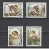 (S0060) ALGERIA, 1988 (WWF. Barbary Macaque). Complete Set. Mi ## 972-975. MNH** - Algérie (1962-...)