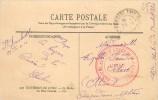 LYON -   Cachet  Hôpital Du Petit Lycée De Saint-Rambert N°57. - Marcophilie (Lettres)