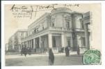 Alexandrie - Egypte - Club Mohamed Ali Et Café Zarani, Très Animée, 1906, Précurseur Dos Inversé Voir Les Photos # - Alexandrië