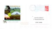 PAP Illustré Courtils Mont-St-Michel Pré-Salé - Voyagé - Postal Stamped Stationery
