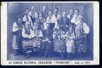 Cpa Ukraine -- Le Choeur National Ukrainien - Prométhée Fondé En 1921 --   OCT17 - Ukraine