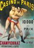 ILLUSTRATEURS D'après PAL -SPORTS 1900 (A)  (Lutte Fight) (NUGERON  S 8) D'après Repro Affiche Casino De Paris - Andere Illustrators