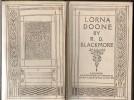 Lorna Doone  R.D. Blackmore  1922 - Livres Anciens
