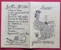 AREZZO  GASTRONOMICA  - PIEGO PUBBLICITARIO - Werbepostkarten
