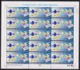PAKISTAN 2012 - APPU - 50 Years Of Asian Pacific Postal Union, Flying Birds, Full Sheet Of 15 Stamps MNH