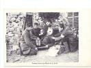 24812 Soldat Poilus Guerre 14-18 -premiers Soins à Un Blessé Sur Front -ed Lemeur
