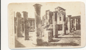 CDV POMPEI, Temple D'Iside (Temple Ruins), # 215, By Anonymous Photographer, Circa 1870  - Ancienne - Photos