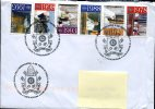 0138 Vaticano, Special Postmark 2015  Holy Year Of The  Mercy - Anno Della Misericordia, IHS - Cristianismo