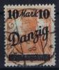 DANZIG: Mi Nr 31 II Gestempelt/used
