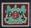 DANZIG: Mi Dienstmark Nr 21 MNH/**/postfrisch