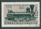 1967 AUSTRIA USATO FERROVIA DEL BRENNERO - G32 - 1961-70 Usados