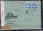Nazi Censor 1941 Hobland Maschinenbau-Anstalt Dresden  -> Imprimex Amsterdam (rc70) - Alemania