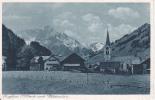 AK Riezlern Mit Widderstein (18847) - Kleinwalsertal