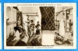 GG492, Franciscaines Missionnaires De Marie Au Maroc, Meknès, Fabrication De Tapis Berbère, Non Circulée - Missions