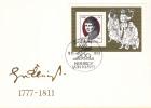 DDR - FDC 18-10-1977 - 200. Geburtstag Von Heinrich Von Kleist - Dichter - M Blok 51 - Schrijvers