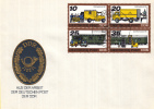 DDR - FDC 9-2-1978 - Posttransport Früher Und Heute/ Posttransport Vroeger En Nu - M 2299-2302 Viererblok - Post