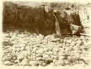 North Yorkshire Scarborough Cote Bords De Mer Galets Photo Ancienne Amateur 1900 - Places