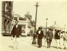 North Yorkshire Scarborough Plage Promenade Bords De Mer Vacances Photo Ancienne Amateur 1900 - Places