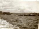 North Yorkshire Scarborough Panorama Bateaux Bords De Mer Photo Ancienne Amateur 1900 - Places