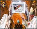 2009 Mozambico Wojtyla Papi Popes Papes Set 2 Block Imperforate MNH**