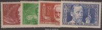 Série Chômeurs Intellectuels De 1936 Neufs * TB ( Y&T N° 330 à 333, Cote 34€) - Nuovi