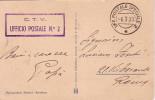 GUERRE 39-45 - TROUPES VOLONTAIRE DU CORPS DE CTV - TROUPE ITALIENNE EN ESPAGNE - CACHET UFF POSTALE SPECIALE 2 - 6-3-39 - 9. WW II Occupation (Italian)
