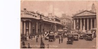 LONDON -bank Of England & Royal Exchange-VIAGGIATA IL 27-6-1929 X GRENOBLE-ORIGINALE D´EPOCA 100% 2 SCAN - Zonder Classificatie