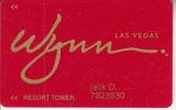 USA - WYNN Casino, member card, used