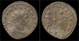 Aurelian Billon Antoninianus Aurelian Standing Right - 5. L'Anarchie Militaire (235 à 284)